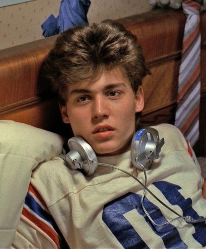 Johnny Depp en 'Pesadilla en Elm Street' (1984)