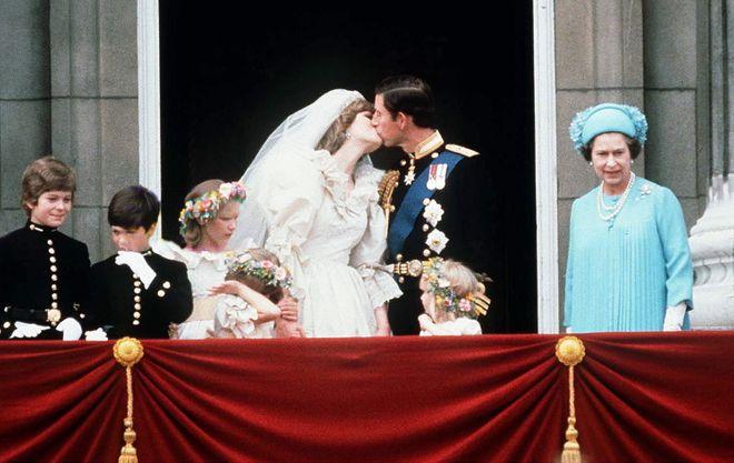 Die schönsten Küsse der Royals