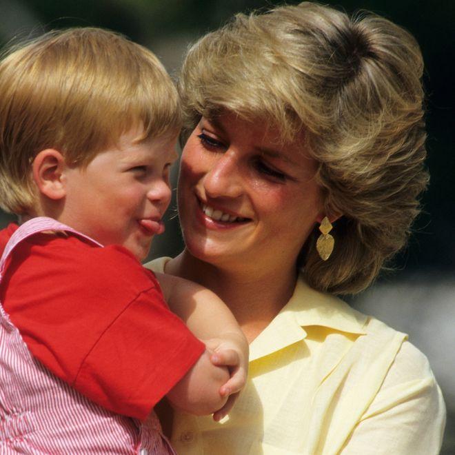 Diana, una delle mamme più affettuose