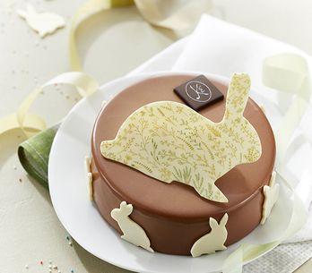Pour changer des oeufs : les entremets de Pâques !