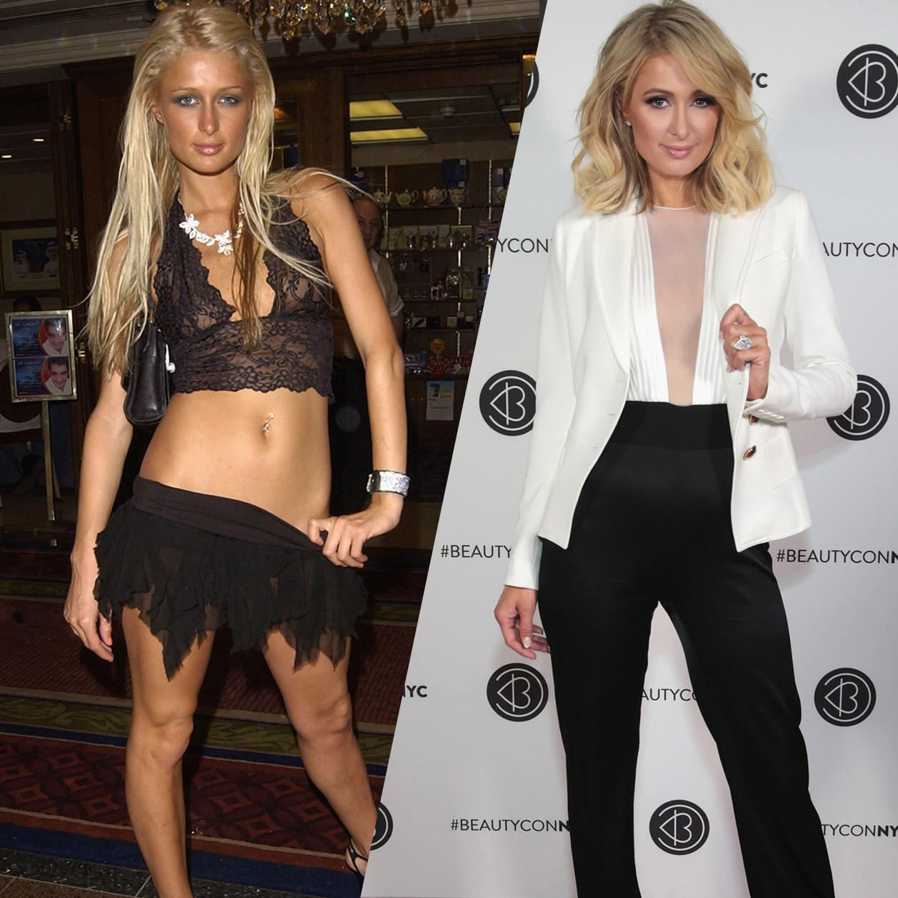 Paris Hilton So Hat Sie Sich Seit 2000 Verändert