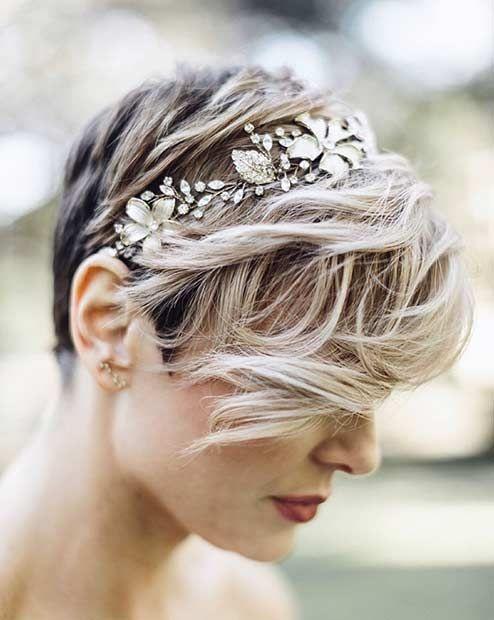 Acconciature Sposa Capelli Corti Tutti Gli Hairstyle Più Belli Per Il Giorno Del Tuo Matrimonio