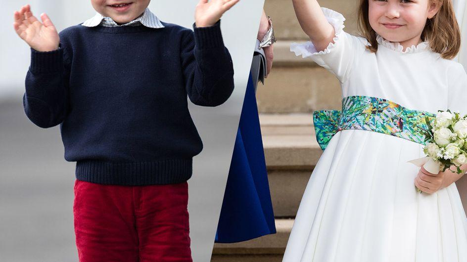 Charlotte, George, Louis... les photos les plus mignonnes de ces mini-héritiers
