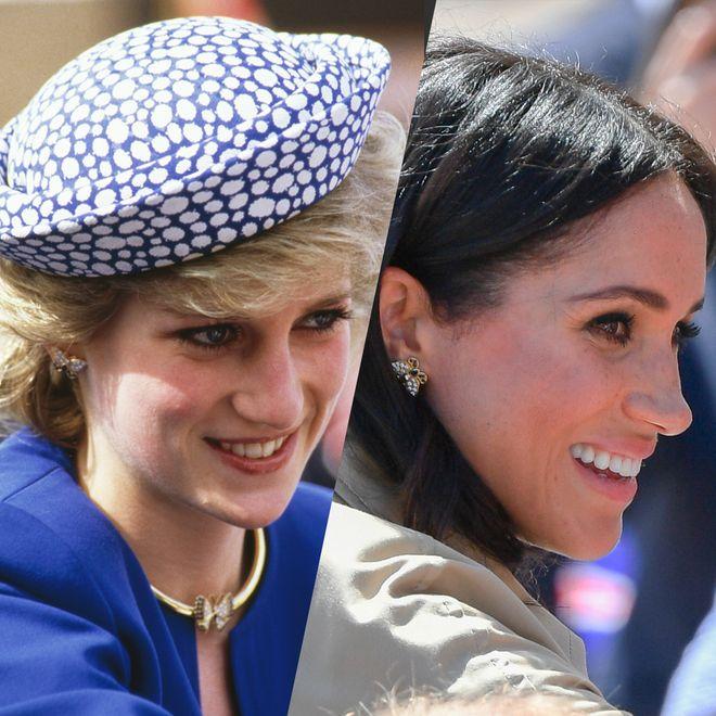 In Erinnerung an Lady Di: Kate und Meghan mit Dianas Schmuck