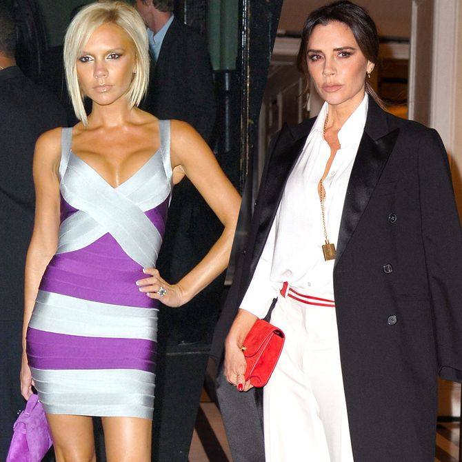L'évolution mode de Victoria Beckham