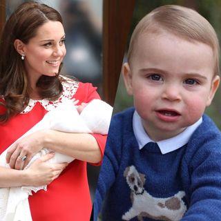 Les photos les plus craquantes du prince Louis, le royal baby numéro 3