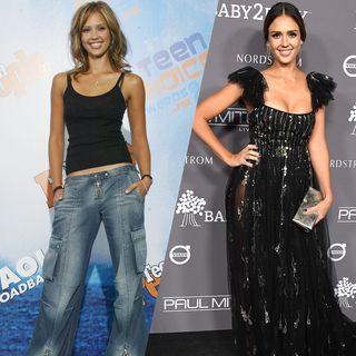 L'évolution mode de Jessica Alba