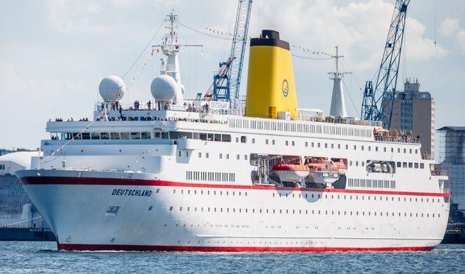 Die MS Deutschland war von 1999 bis 2015 als 'Das Traumschiff' unterwegs