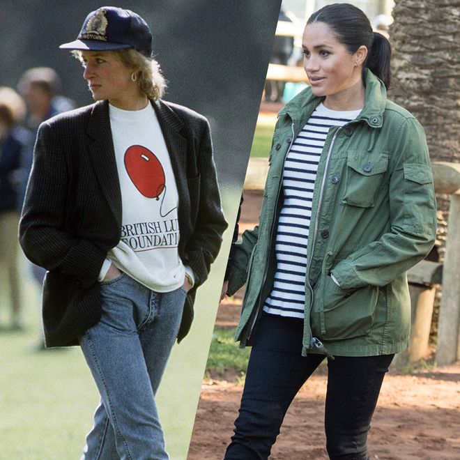 Los mejores 'looks' desde Lady Di a Meghan Markle