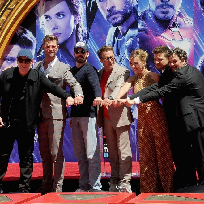 Il cast di Avengers: Endgame