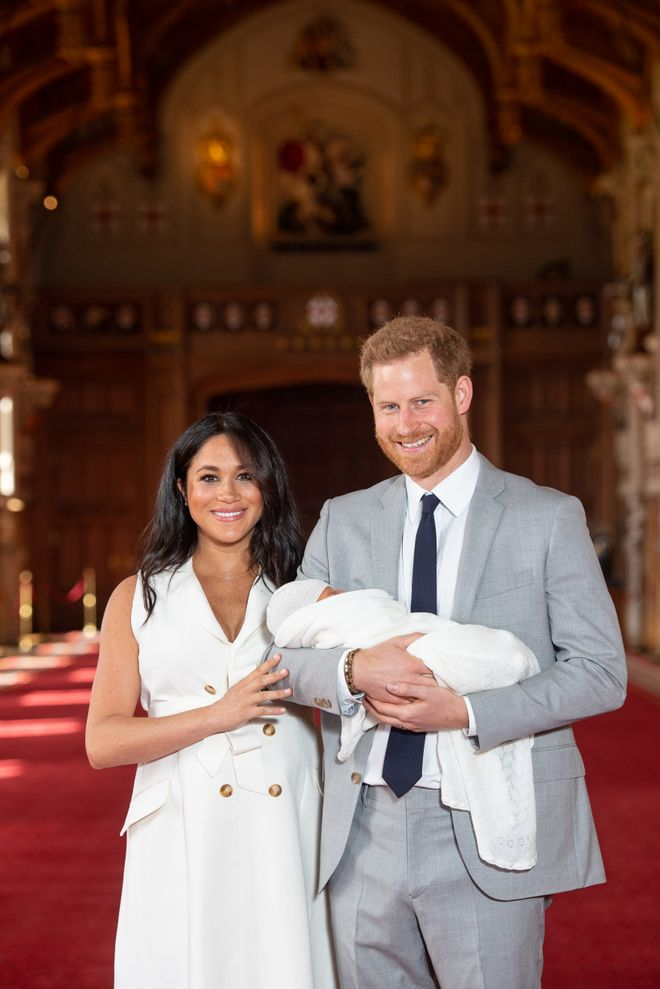 ¡Bebé Sussex es una preciosidad!