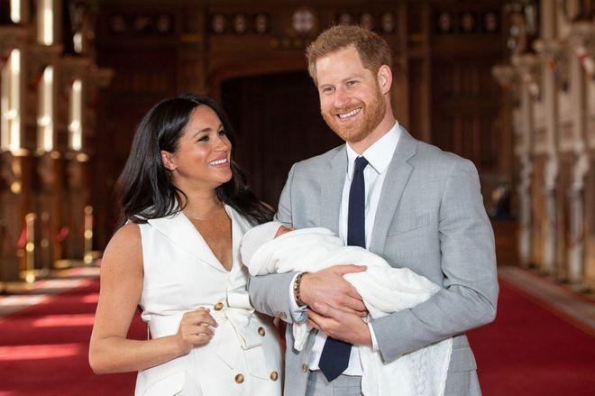 Meghan, Harry und der kleine Archie