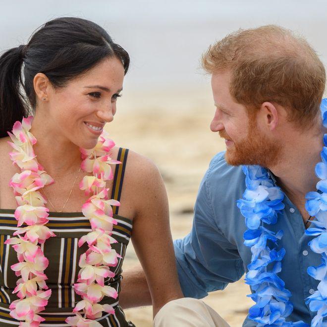 I look casual della Famiglia Reale inglese