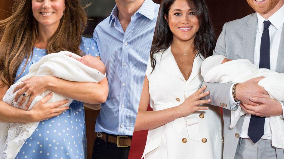 Kate et Meghan : retour sur les différences repérées lors des présentations de leurs enfants