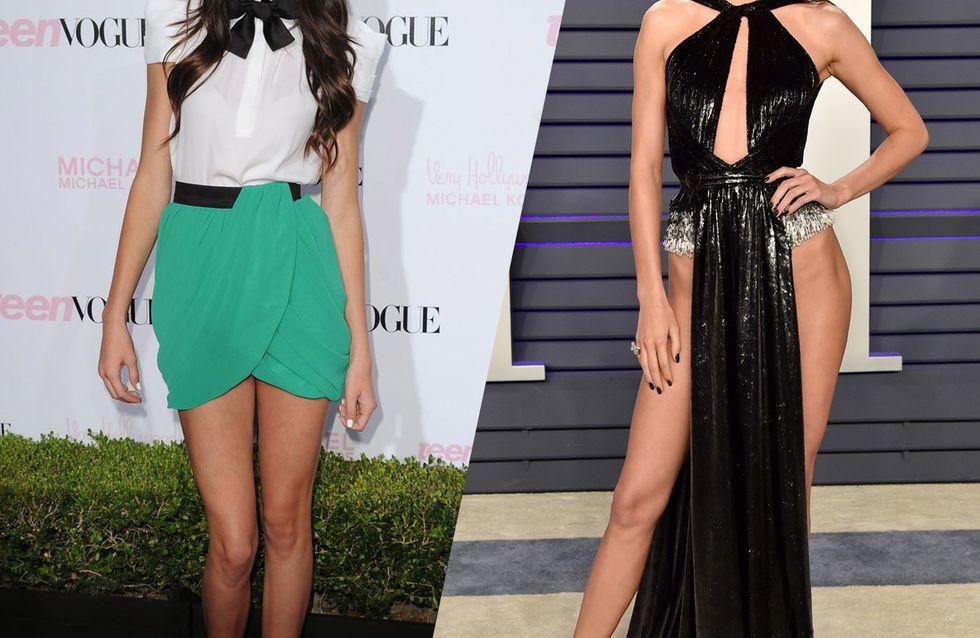 Retour sur la sublime évolution mode de Kendall Jenner