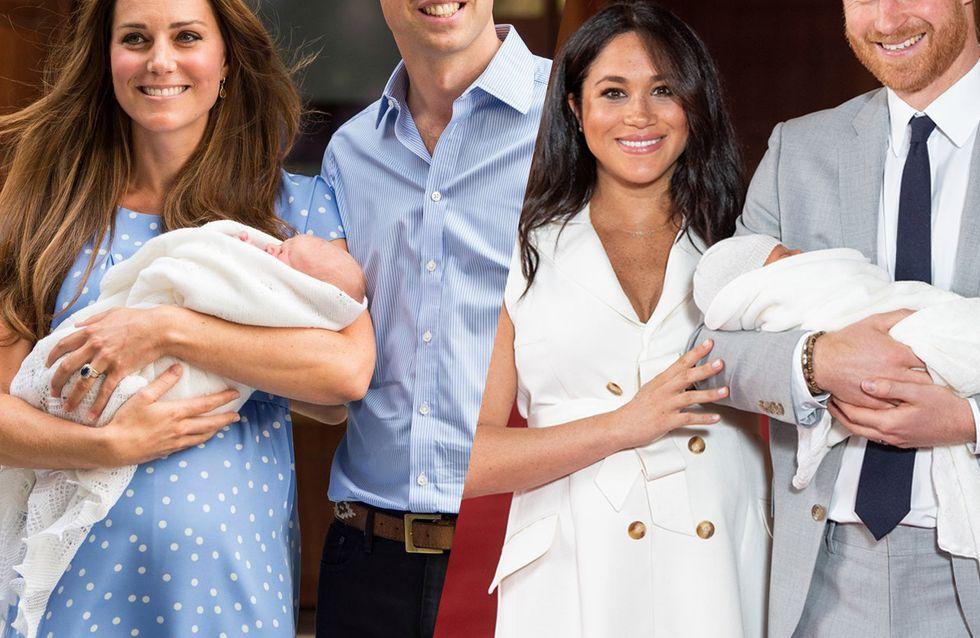 Kate & Meghan: So unterschiedlich präsentierten sie ihre Babys