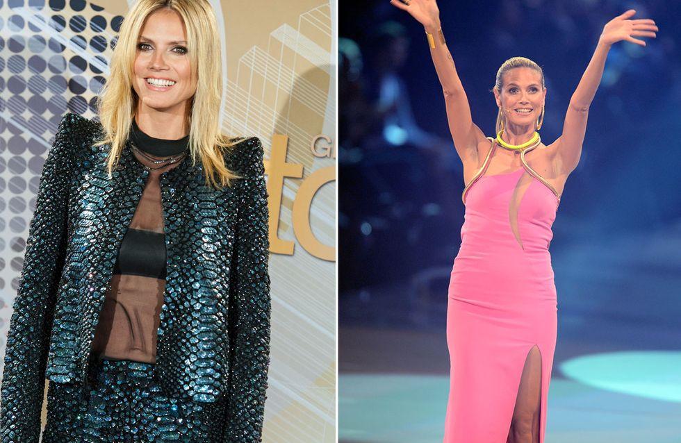 Heidi Klum: Mit DIESEN Outfits sorgte sie für Wirbel