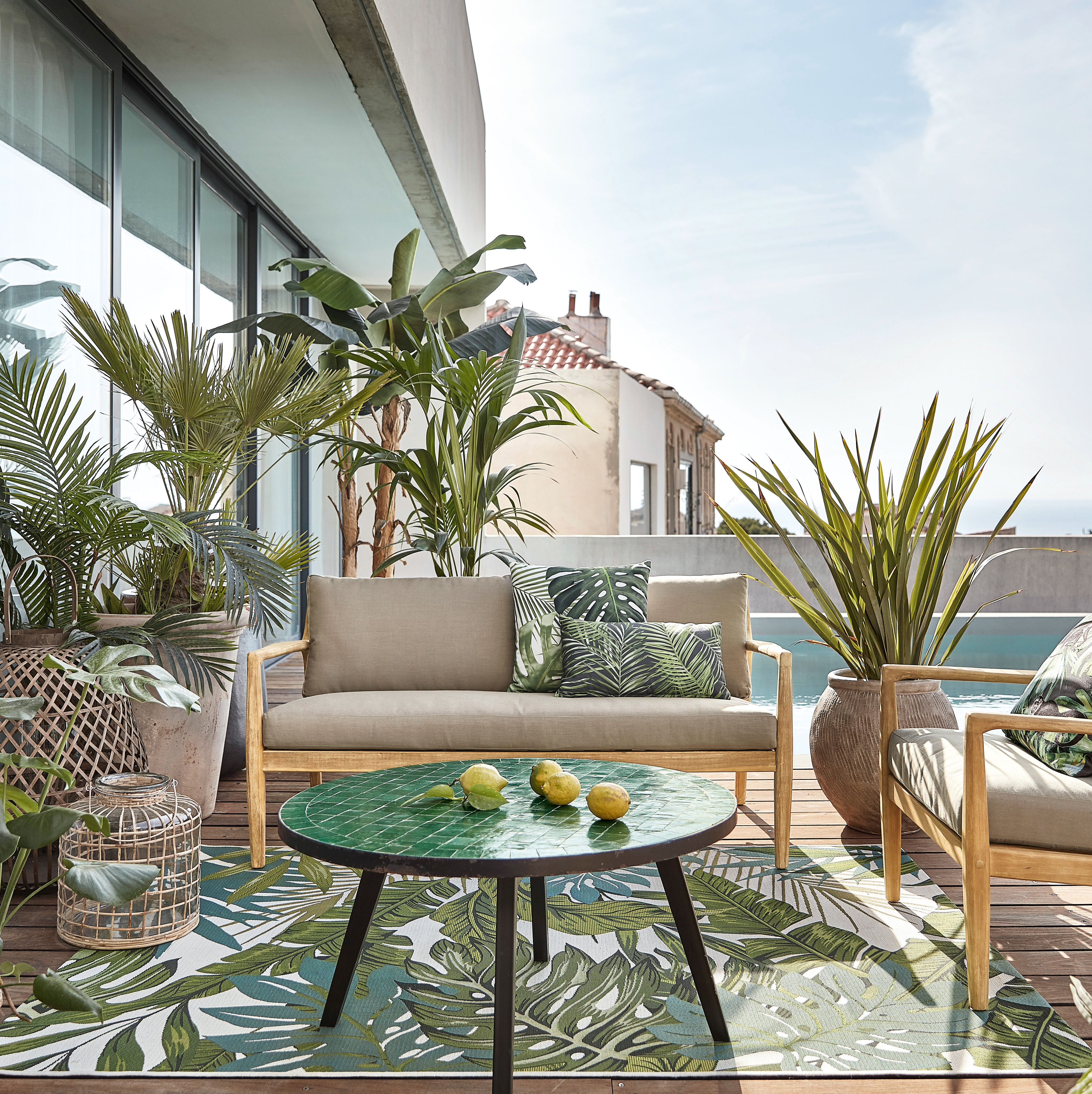 Deco Petite Terrasse Exterieur déco terrasse : 50 idées déco pour une terrasse canon