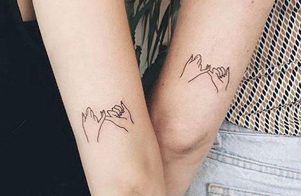 Tatuajes para amigas: 30 diseños con los que llevar vuestra amistad en la piel