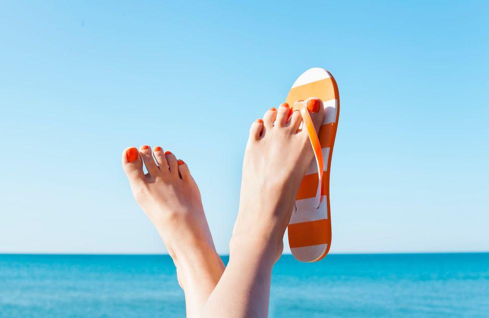 Los colores del verano para una pedicura 'top'