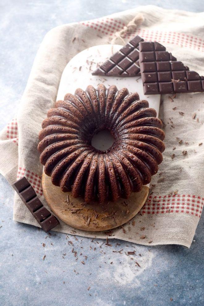 Un gâteau au chocolat pour les écoliers