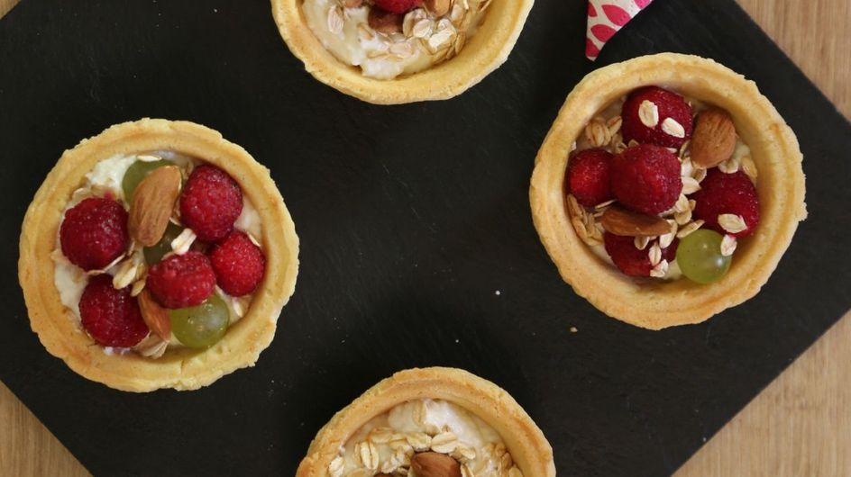 Cestini di pasta frolla con frutta fresca: un dessert delizioso e facile!