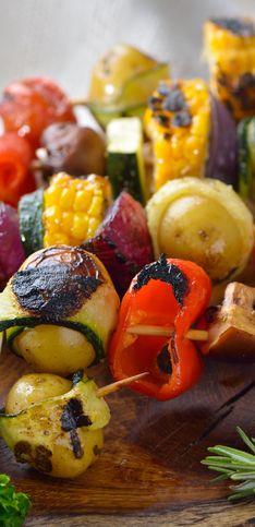 Nos recettes de légumes à faire au barbecue