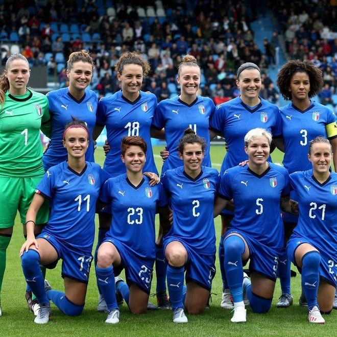 La nazionale femminile italiana