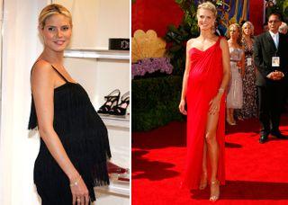 Heidi Klum schwanger: Ihre schönsten Look mit Babybauch
