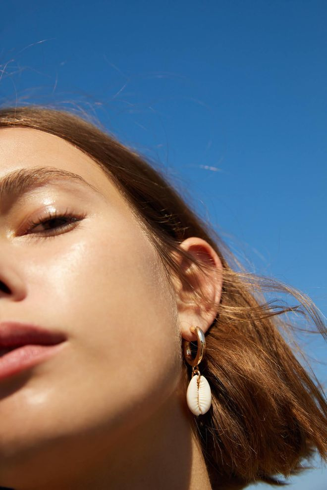 Des boucles d'oreilles coquillages