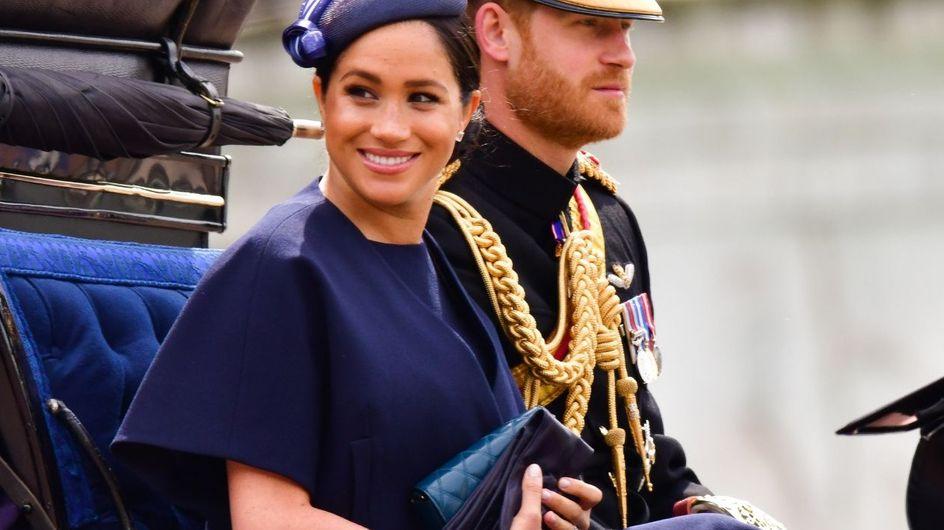 El regreso de Meghan y el debut del príncipe Louis en el desfile 'Trooping the Colour'