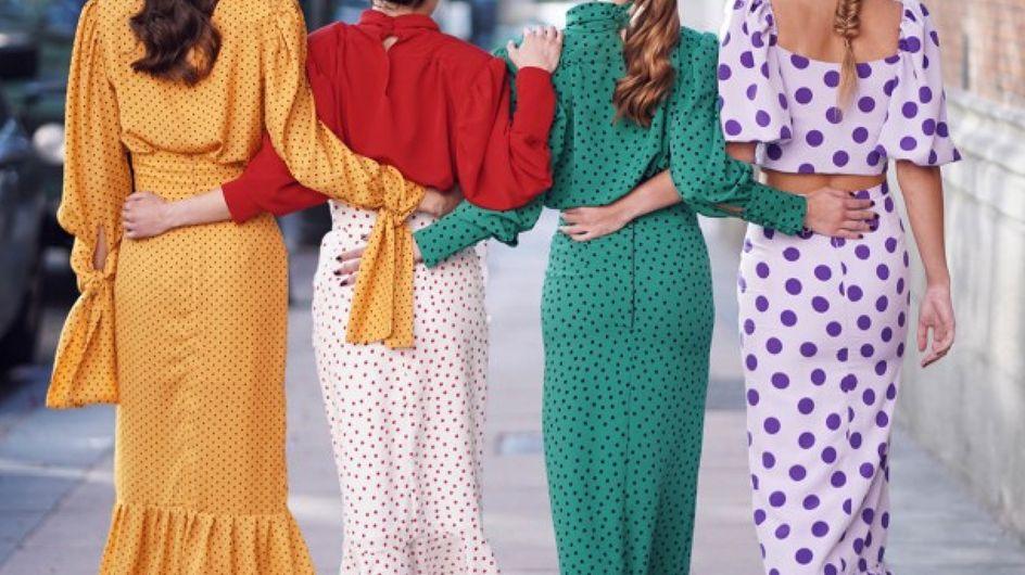 ¡Color fucsia, lunares y más! 30 ideas impecables para tu próximo look de boda