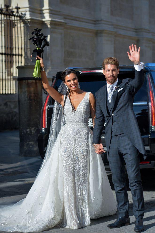 La boda de Pilar Rubio y Sergio Ramos ha sido este sábado en Sevilla
