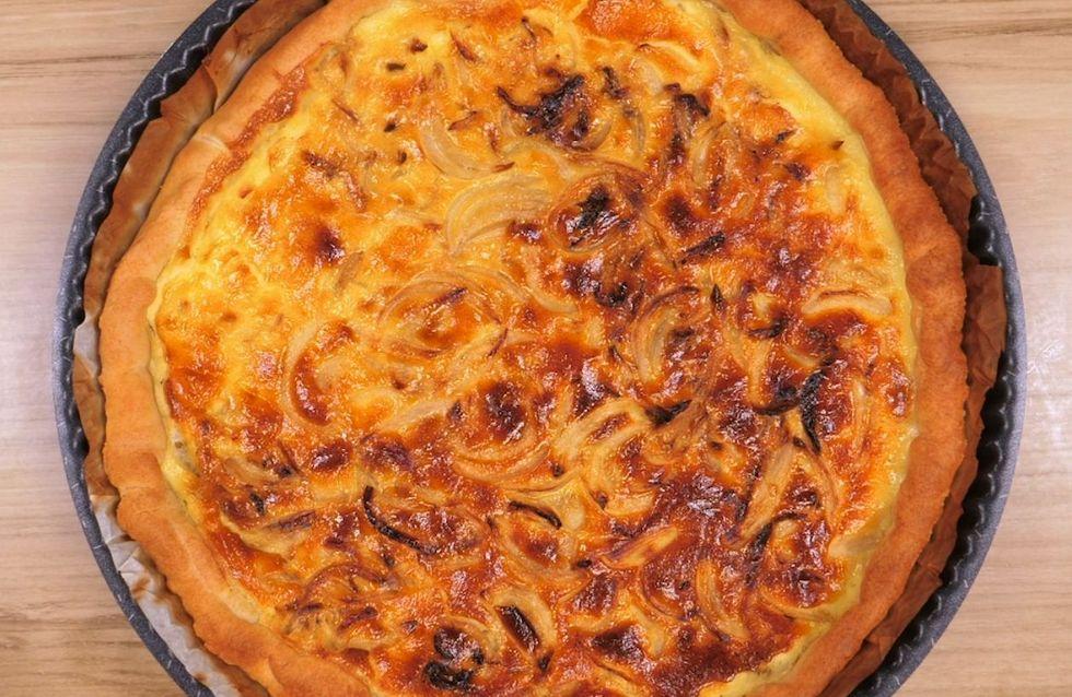Ricetta torta salata con cipolle: la ricetta facile per una tortina sfiziosa!