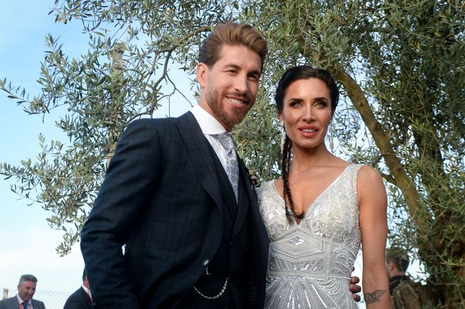 Pilar Rubio y Sergio Ramos disfrutan de...