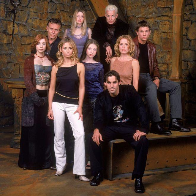 Der Cast von Buffy im Bann der Dämonen