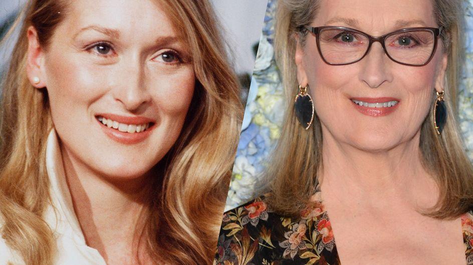 Retour sur l'évolution beauté de la talentueuse Meryl Streep