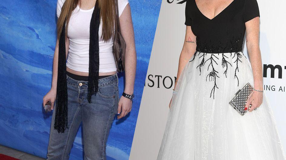 ¡Lindsay Lohan celebra sus 33 posando desnuda! La increíble transformación física de la actriz