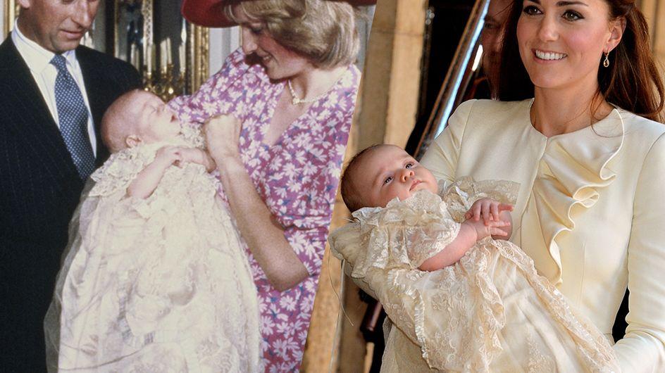Retour sur les baptêmes des membres de la famille royale britannique