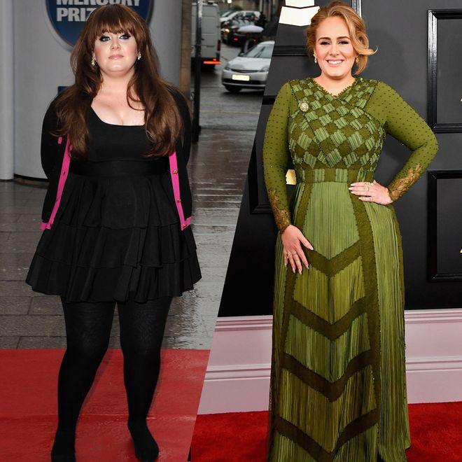 Der Style von Adele im Laufe der Jahre