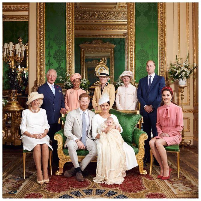 1. El lenguaje corporal de la familia real británica
