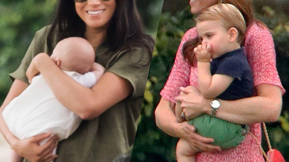Kate Middleton et Meghan Markle : réunies pour la première fois avec leurs enfants