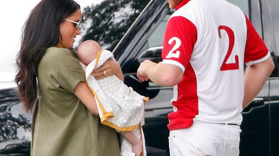 La prima uscita di Archie Harrison: il baby Sussex è andato a vedere Harry a una gara di polo
