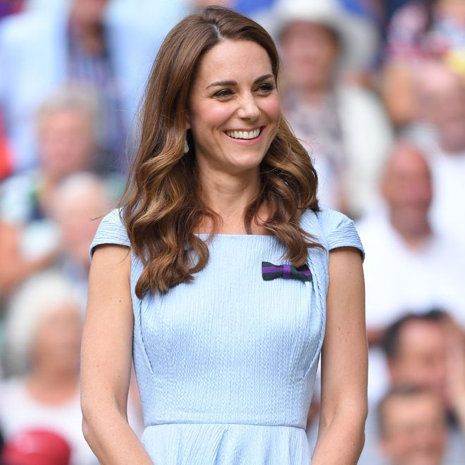 I look delle reali a Wimbledon: Kate Middleton nel 2019