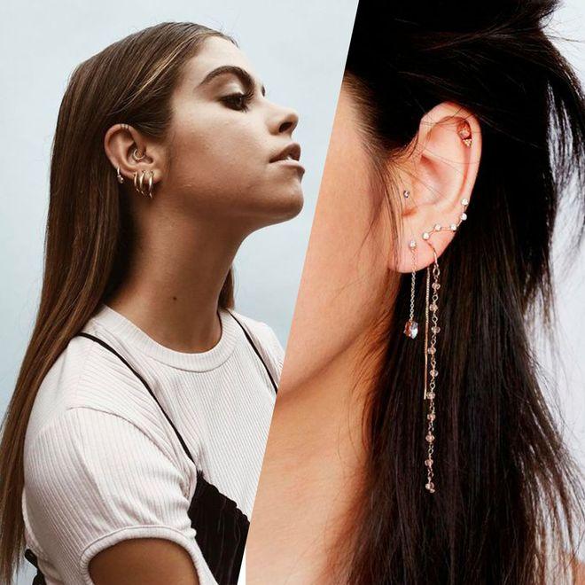 30 idées de piercings aux oreilles pour s'inspirer