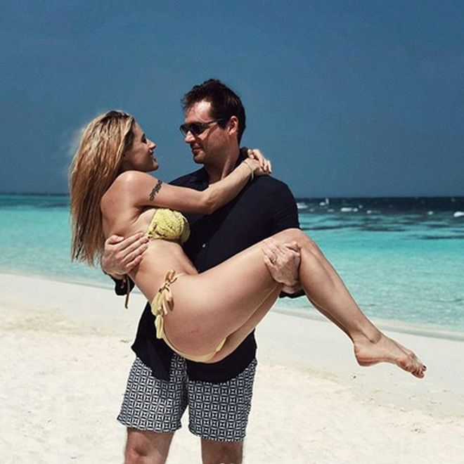 Le vacanze dei vip: Michelle Hunziker e Tomaso Trussardi