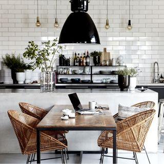 Une cuisine industrielle
