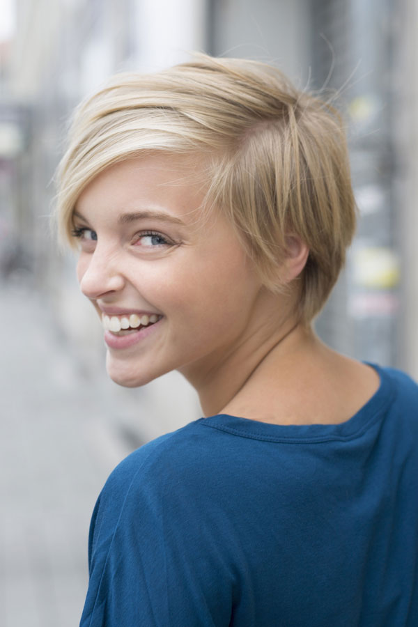 Haare damen 2021 kurze Kurze Haare