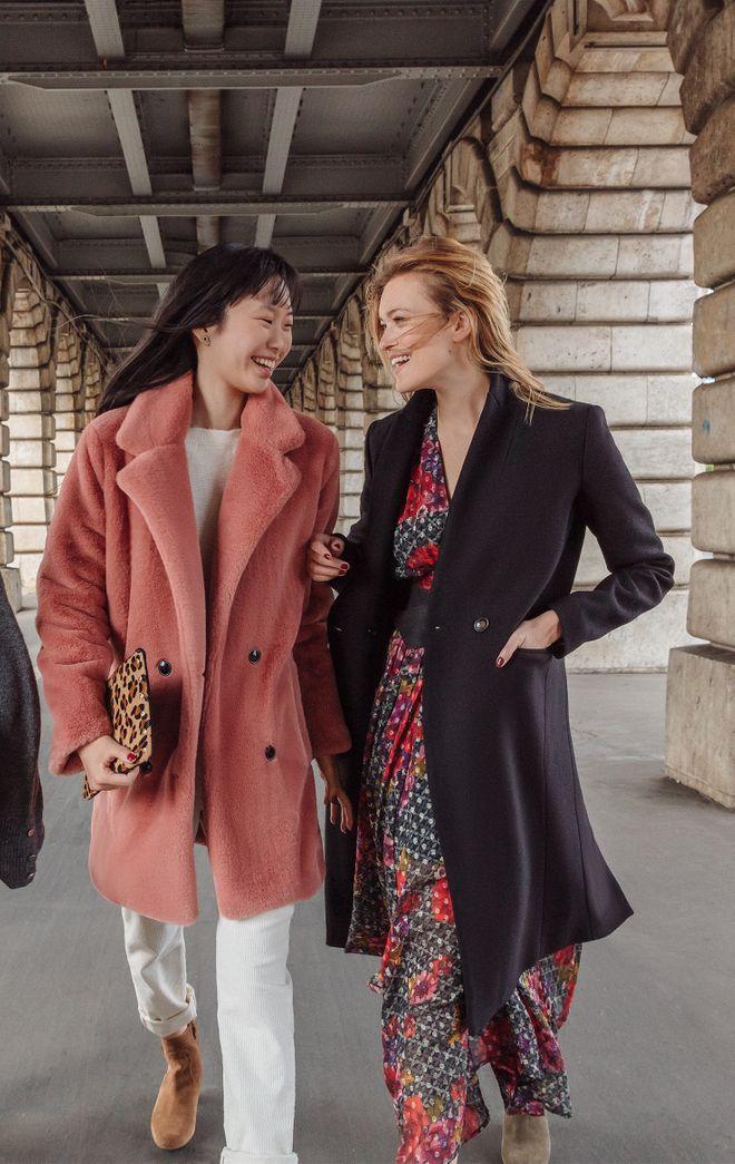 Manteau femme chic tendance