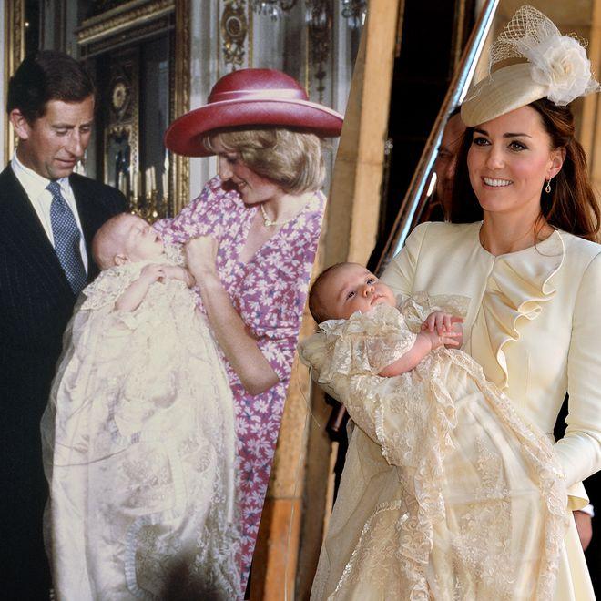 So schön waren die Taufen der britischen Königsfamilie